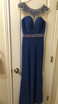 blue and gray sleeveless dress McAllen, 78501
