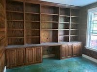 custom built  bookcases, wine racks, mantels and much more Pilot Point