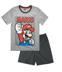 T-shirt et short mario