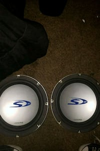 "2 Alpine Type S 12"" subwoofers 2049 mi"