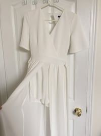 White Casual Jumpsuit Whitby, L1R 2R7