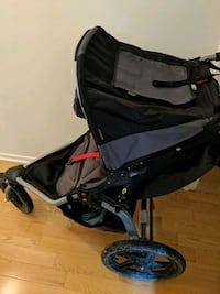 baby's black and gray stroller Westmount, H3Z