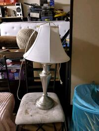 Silver Lamps with shades Simi Valley, 93065
