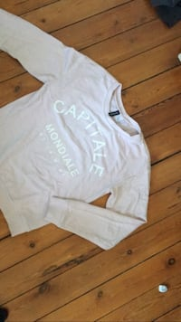 Sweat capitale Mondiale marron Mont-Saint-Aignan, 76130