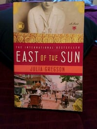 East of the Sun by Julia Gregson book Tumwater, 98512