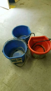 3---20QT  Heated Horse/Large Dog Water Buckets  Lockport, 60441