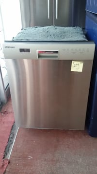 gray and black Haier compact refrigerator MONTREAL
