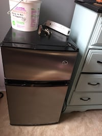 Stainless steel mini refrigerator, $80 Ashburn, 20147