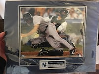 Jorge Posada Framed Photo Rochelle Park, 07662