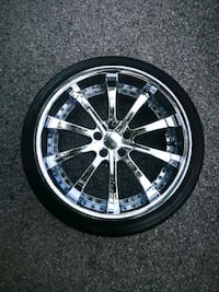 20 inch chrome rims staggered 750 OBO Toronto, M1B 3C9
