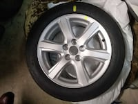 one 17inch alloy wheel with 215/55 r 17 93v Burnaby, V5B 4H6