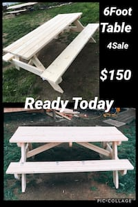6Ft Picnic Table