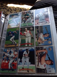 assorted baseball trading card collection