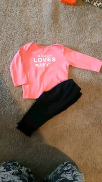 Carters outfit size 6 months Whitby, L1N 3C7