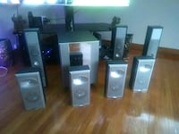 black and gray home theater system Edmonton, T6A 3J8