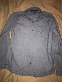 Forever 21 Men's long sleeve button up