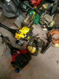 Assorted yard Equipment parts