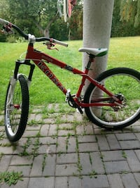 red hardtail bicycle 549 km