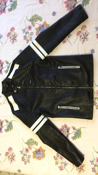 Small Xray jeans black and white leather jacket Toronto, M9P 3R2