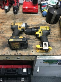 Dewalt drill and impact with one battery  Laurel, 20707