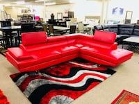 red and black living room set Houston, 77092