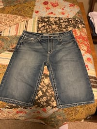 Buckle jean shorts! Size 38 pretty much brand new.  Richfield, 55423