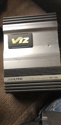 Alpine one or two channel power car amplifier Palmer, 99645