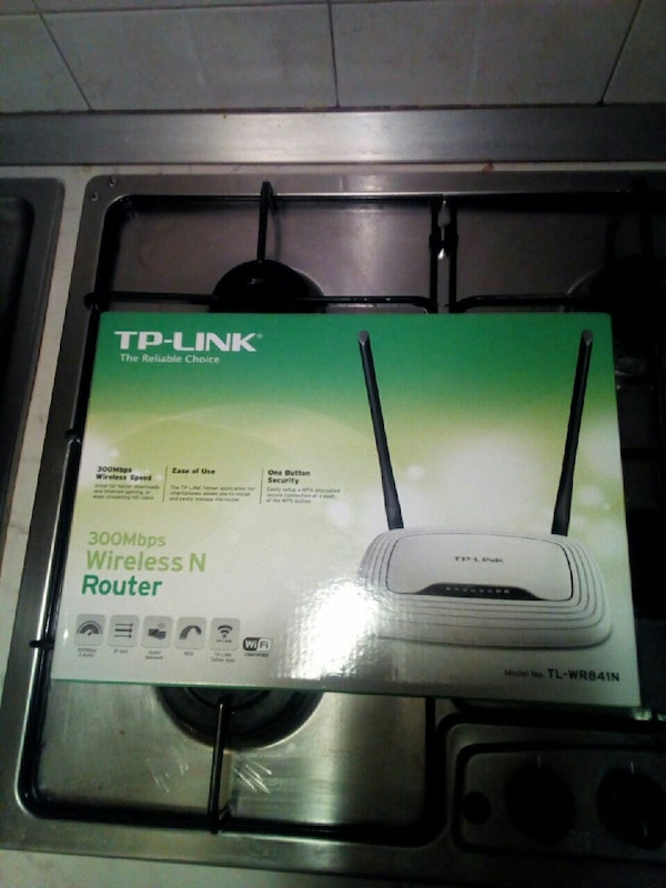 Scatola del router wireless N TP-Link bianca