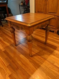 Sturdy All wood small Table