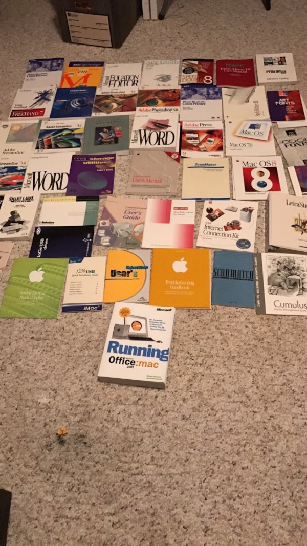 Used Vintage computer manuals  for sale in Independence - letgo