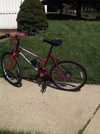red and black hardtail mountain bike Frederick, 21703
