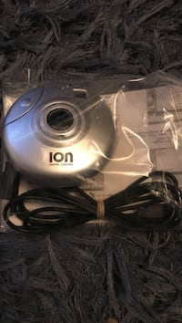 gray Ion digital camera with pack