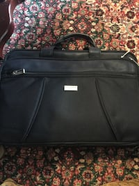 Black leather computer or carry on bag Decatur, 35603