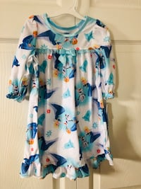 Brand new 12M Disney Frozen long sleeve nightgown(pick up only)