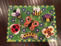 Melissa and Doug Bugs Wooden Puzzle Fullerton, 92835