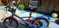 White and pink bike for girl Toronto, M9L 1G9