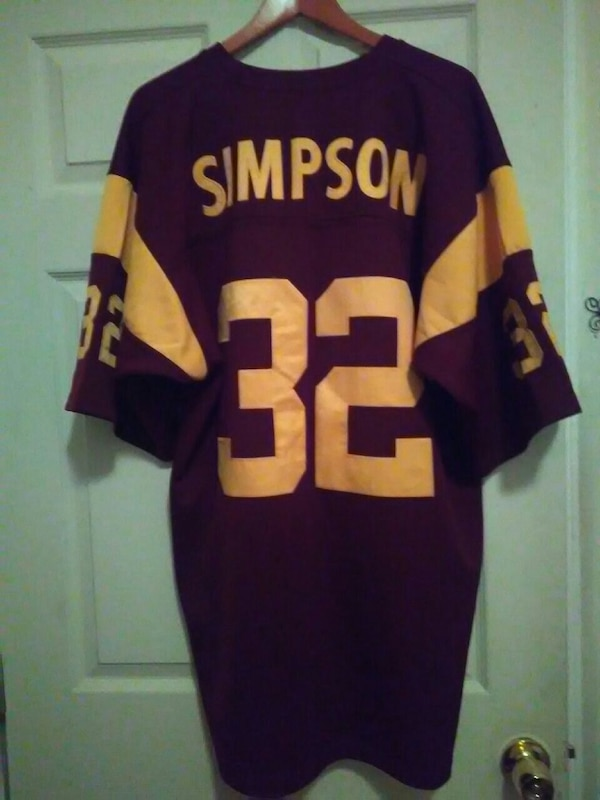 the latest 1b54e e119d O.J. Simpson college jersey.