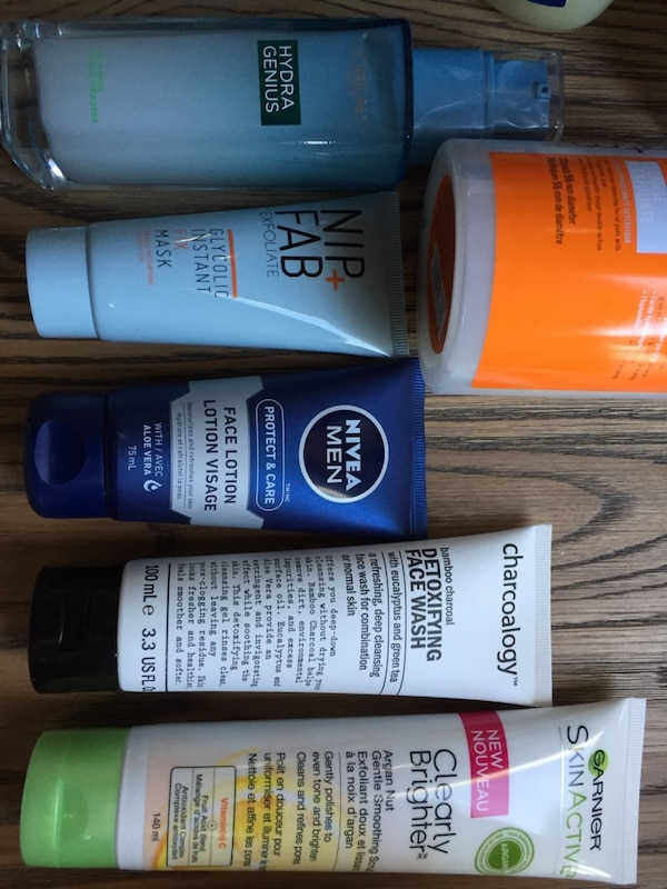 Facial products