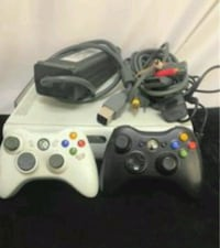 white Xbox 360 console with controllers Brownsville, 38012