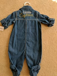 New - Carter's Boy Romper Frederick, 21702