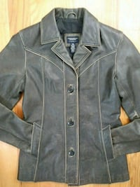 Brown Leather American Eagle Jacket