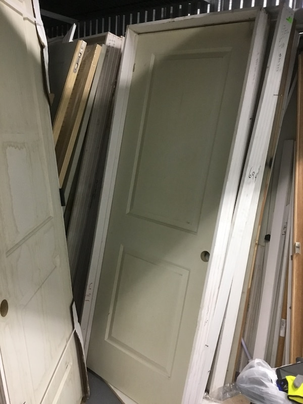 "30/80"" 2 PANEL SQUARE PREHUNG DOOR db2548cb-6b34-4c91-83d9-6e1365d371f0"
