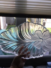 Glass serving platter Brampton, L7A 2C6