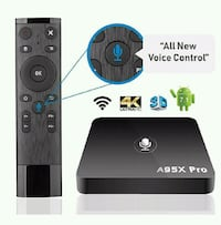 Android TV box 2gb ram Voice Remote  Brownstown