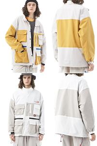 PUCZA KAJZO MULTI POCKET VELCRO POCKET WINDBREAKER JACKET