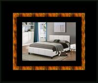 White platform bed with mattress and box all size Mount Rainier, 20712