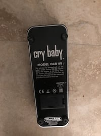 Cry baby wah effects pedal  Boca Raton, 33432