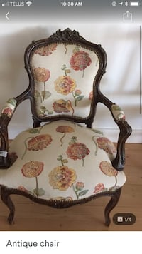 Antique newly upholstered armchair Calgary, T3E 2C4