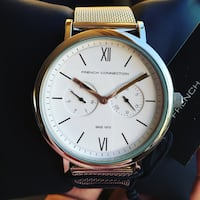 Brand new FCUK Silver White Stainless Steel Watch (negotiable ) Maroubra, 2035