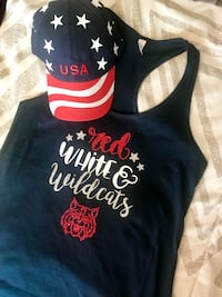 black and red tank top Tucson, 85713